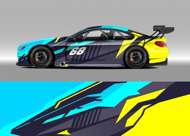 ラリーのためのレースカー Premiumベクター