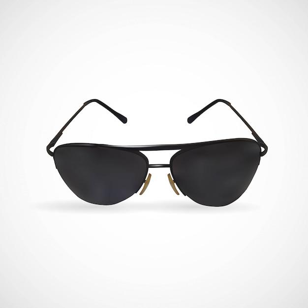 孤立したサングラスのイラスト Premiumベクター