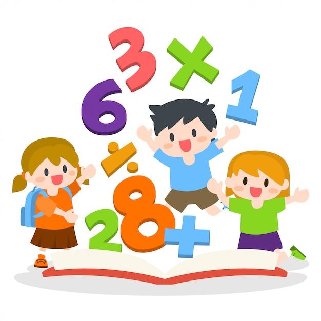 Математика картинка для детского сада