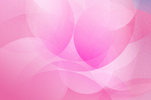 ピンク色のモダンなデザインの幾何学的要素のベクトルの抽象的な背景 Premiumベクター