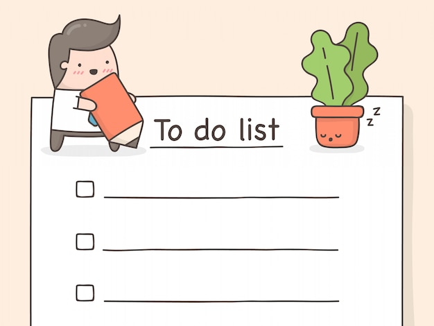 リストをするために。 Premiumベクター