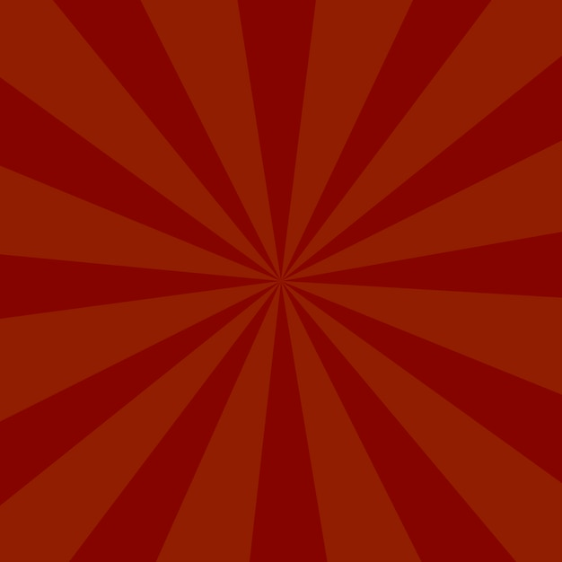 Красный цвет фона или фон солнечных лучей Premium векторы