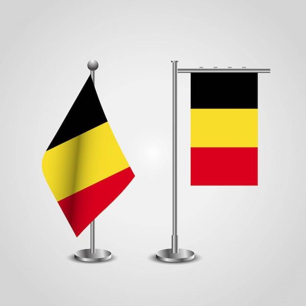 ベルギーの旗のデザイン Premiumベクター
