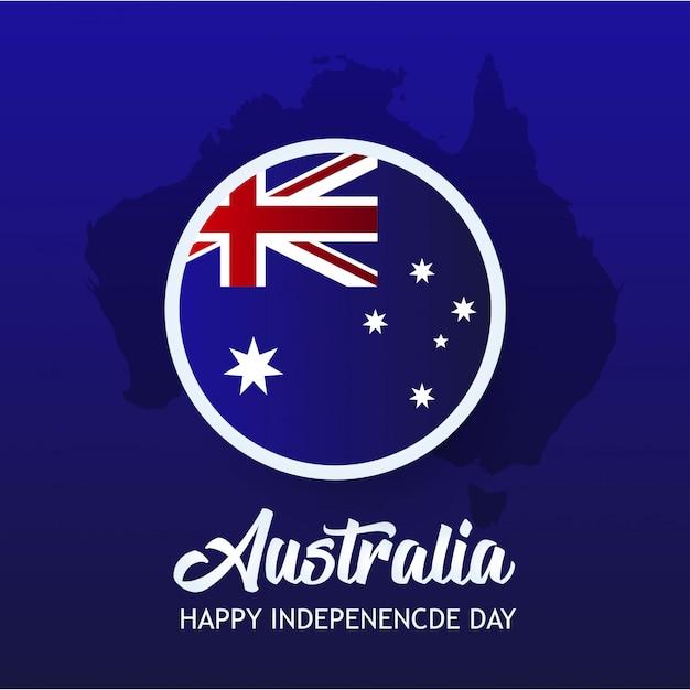 オーストラリア独立記念日 Premiumベクター