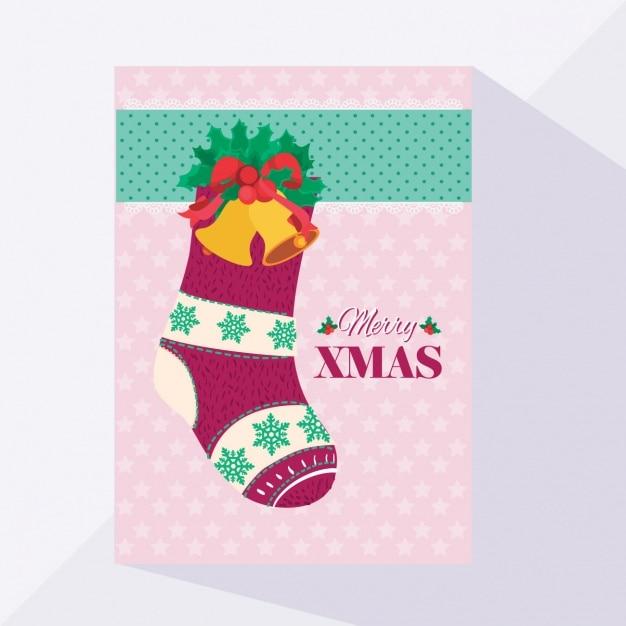 Носок на открытке, светофор для детей