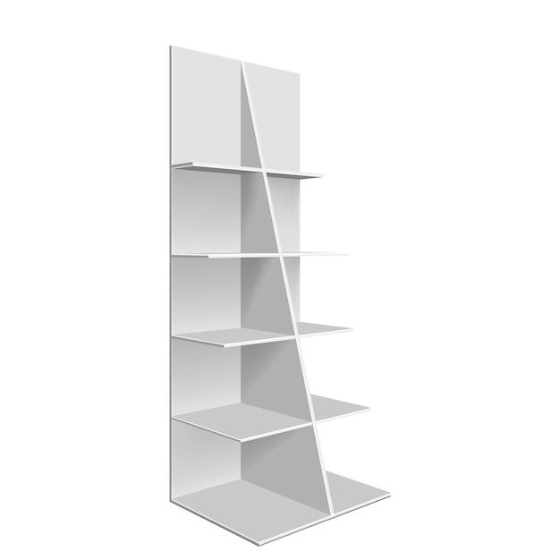Пустая витрина. изолированных иллюстрация Premium векторы
