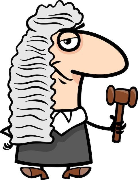 Картинка в карандаше судья
