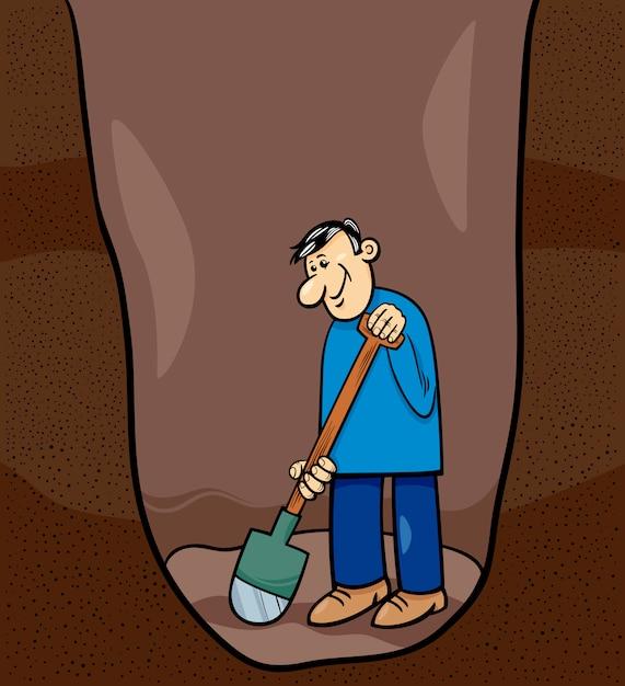 Картинки копать яму