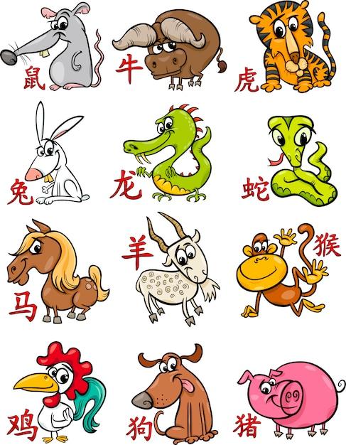 Животные гороскопа в картинках