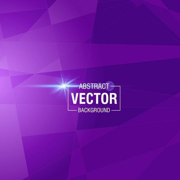 Фиолетовый фон с полигональными винограда Бесплатные векторы