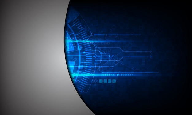 背景抽象技術コミュニケーション Premiumベクター
