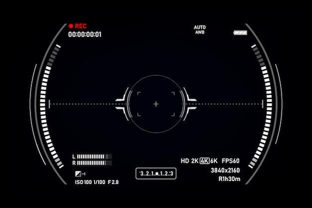 カメラファインダー Premiumベクター
