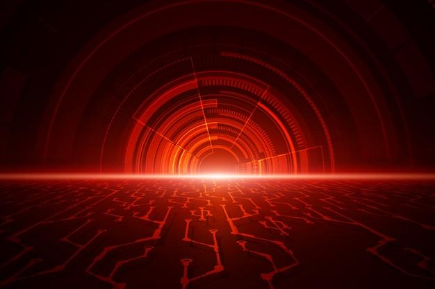 抽象的な技術速度の背景 Premiumベクター
