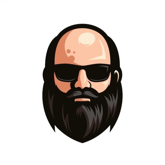 Смайл борода картинка