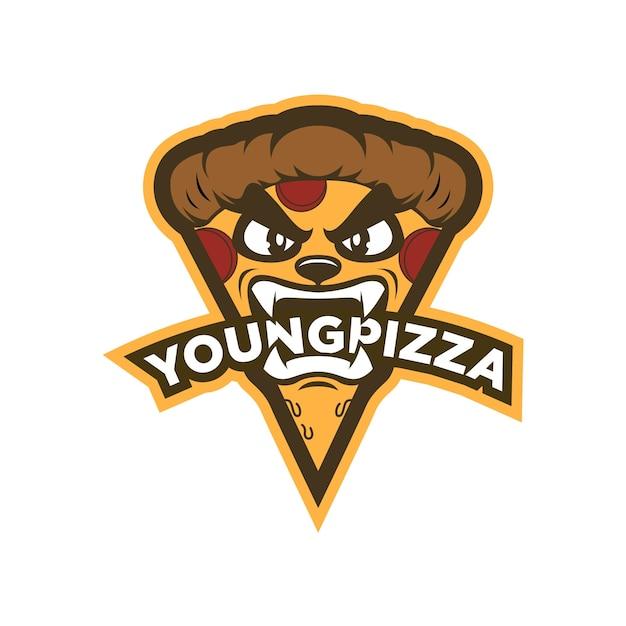 Шаблон дизайна логотипа пиццы Premium векторы