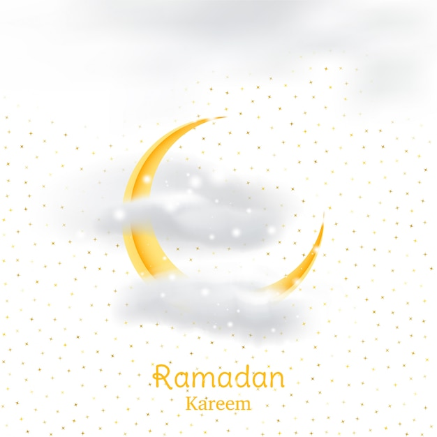 ラマダンカリームの聖なる月のイスラム教徒の饗宴 Premiumベクター