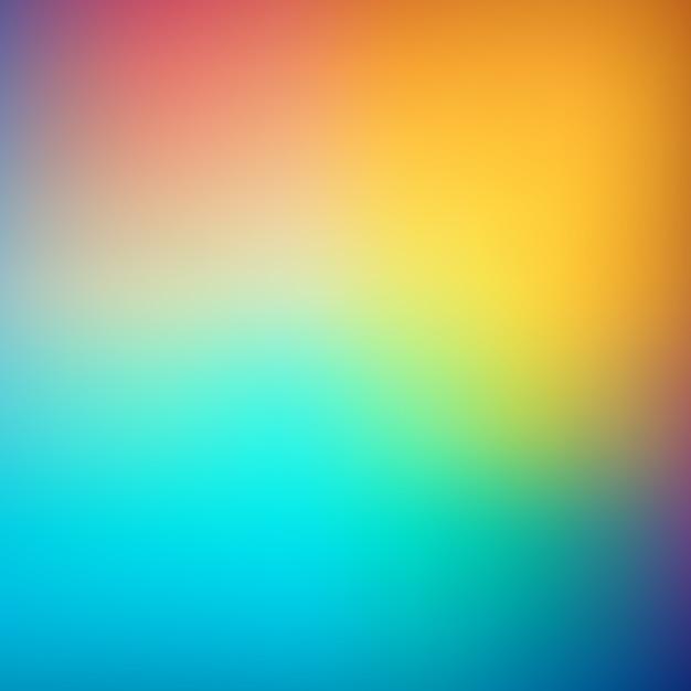 抽象的なぼかしグラデーションメッシュの背景 無料ベクター
