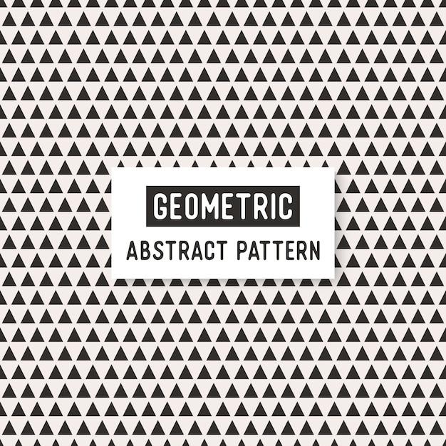 抽象的な白と黒のシームレスなパターン。 無料ベクター