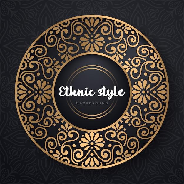 イスラムのベクトルの背景 Premiumベクター