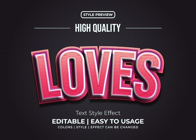 Эффект тисненого красного и розового текста с текстурой линий Premium векторы