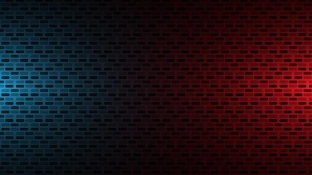 赤と青の壁の背景 Premiumベクター