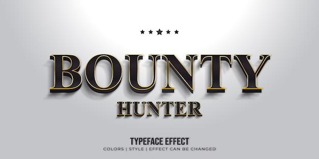 Современный текстовый шрифт Premium векторы