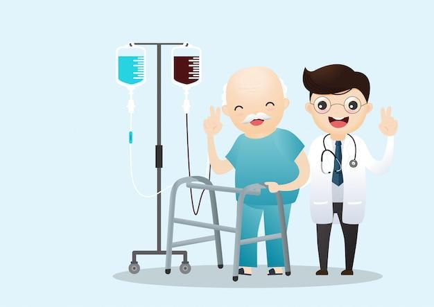 Медицинская помощь Premium векторы