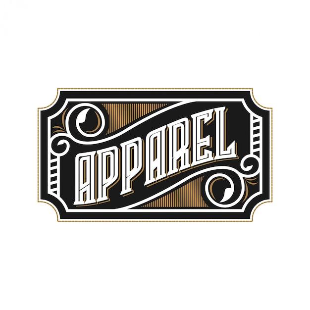 Логотип для магазина моды и одежды Premium векторы