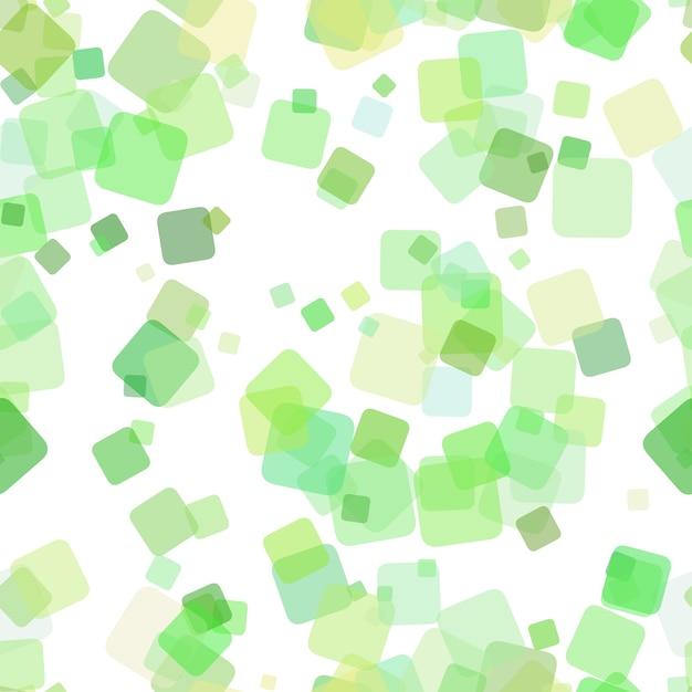 Бесшовные геометрический квадратный фон шаблон - векторные иллюстрации из случайных повернутых квадратов с эффектом непрозрачности Бесплатные векторы