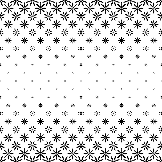 Черно-белый геометрический узор - фон Бесплатные векторы