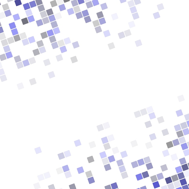 Абстрактный пиксель квадратный угол дизайн фона - векторные иллюстрации из округлых квадратов диагональ Premium векторы