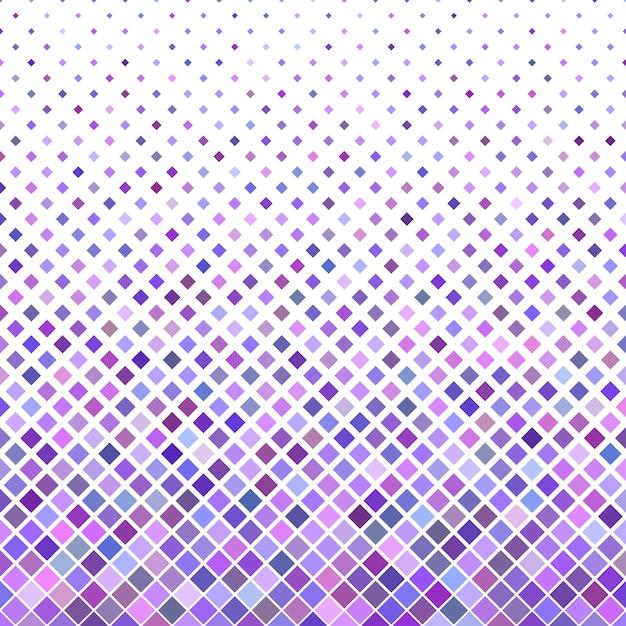 色の抽象的な斜めの正方形のパターンの背景 - 紫色の四角形からのベクトルデザイン 無料ベクター