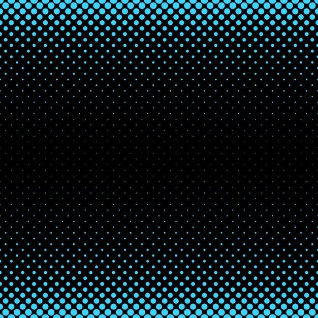 ハーフトーンドットパターンの背景 - さまざまなサイズの円からのベクトル図 無料ベクター