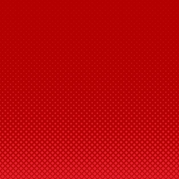 赤い幾何学的なハーフトーンカーブした星のパターンの背景 無料ベクター