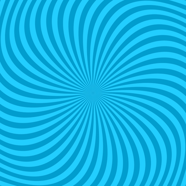 ねじれた光線からの抽象的な螺旋線の背景 Premiumベクター