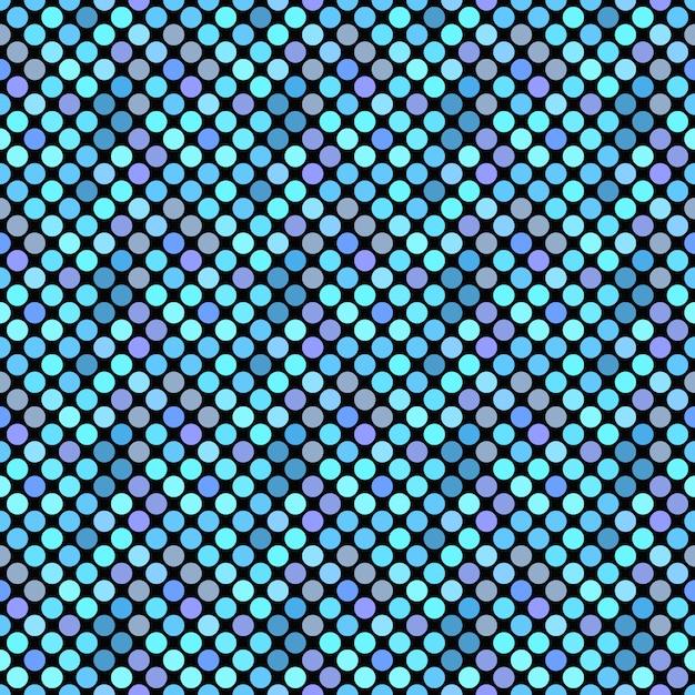 Точечный фон на синем Premium векторы