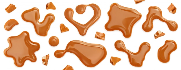 チョコレートスプラッシュ Premiumベクター