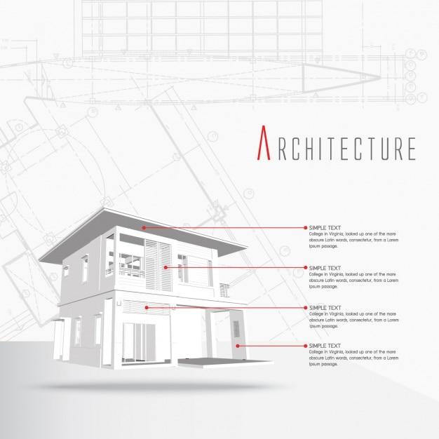 建築インフォグラフィックテンプレート 無料ベクター