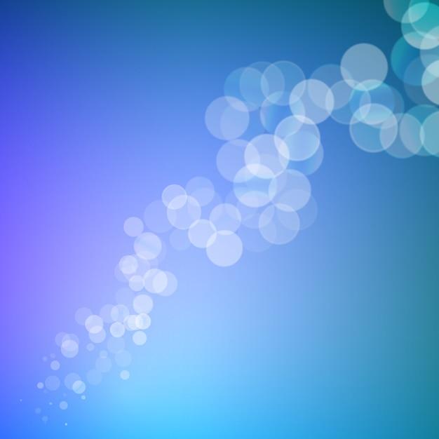 Абстрактные боке блестки линии на размытом фоне Premium векторы