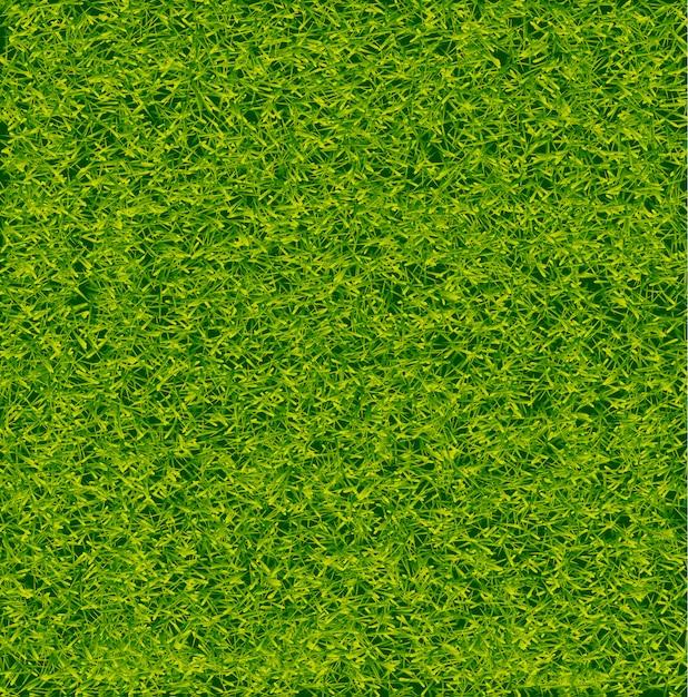 緑のサッカー草フィールドのベクトルの背景 Premiumベクター