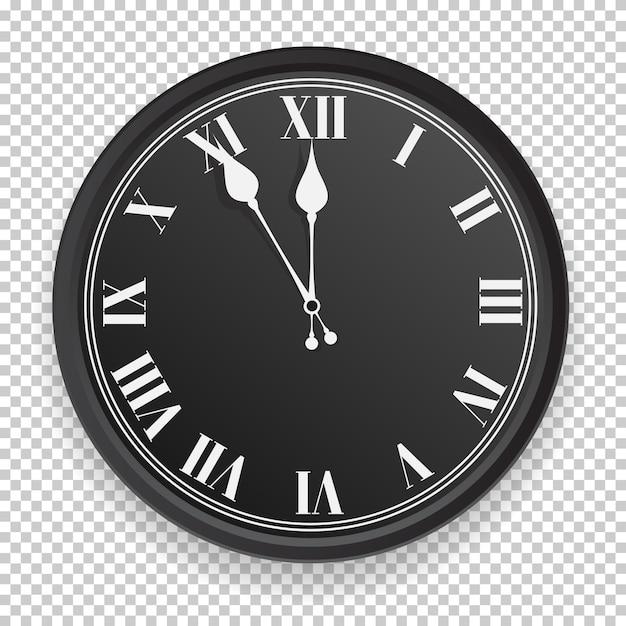 Абстрактный значок часов. Premium векторы