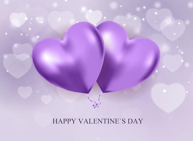 День святого валентина любовь и чувства продажа. Premium векторы