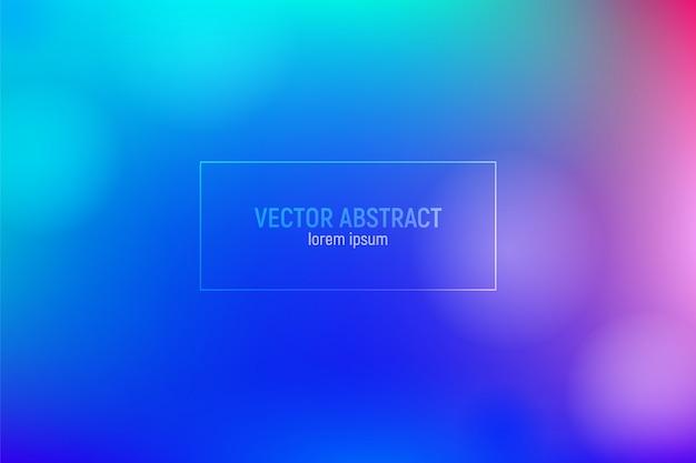 グラデーションの青と紫の背景。 Premiumベクター