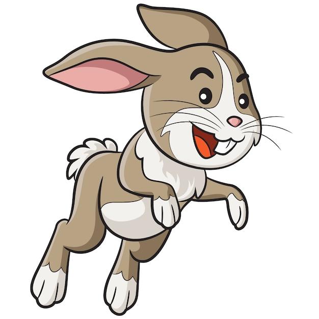 ウサギの漫画 Premiumベクター