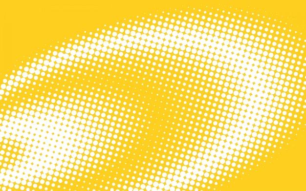 Желтый полутоновый фон Бесплатные векторы