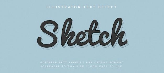 Эскиз рукописного текста в стиле шрифта Premium векторы