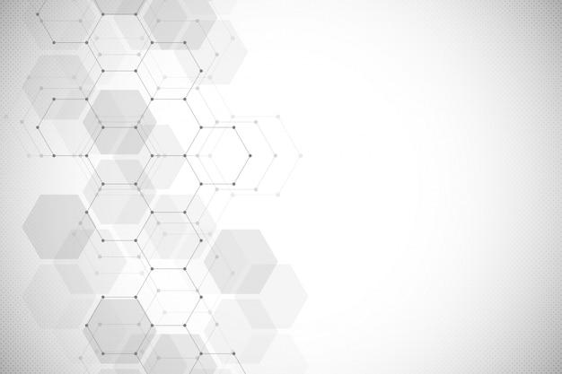 抽象的な幾何学的な背景 Premiumベクター