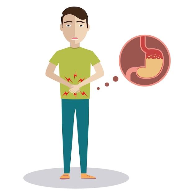 пищевое отравление рисунок тому здесь