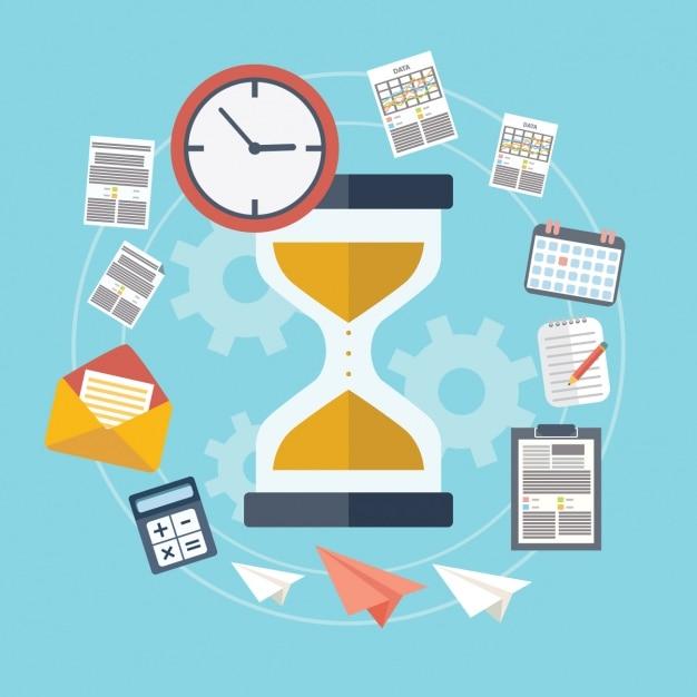 Время для бизнеса Бесплатные векторы
