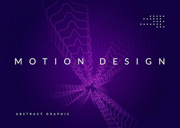 Темно-фиолетовый фон с абстрактными формами Premium векторы